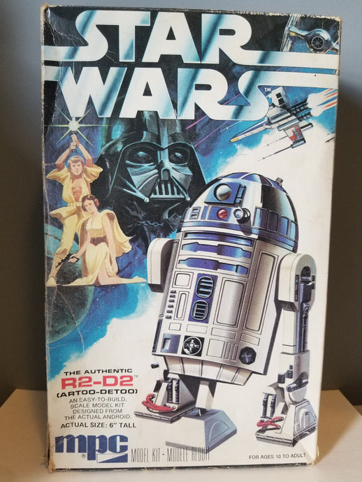 1977 Star Wars R2-D2 Model Kit