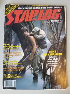 November 1980 Starlog Magazine #40 Factory Error
