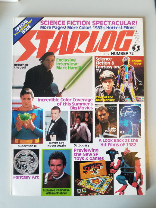 July 1983 Starlog Magazine #72