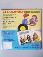 Load image into Gallery viewer, 1984 Star Wars Adventures in Colors and Shapes Record and Book