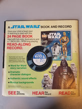 Load image into Gallery viewer, 1983 Star Wars Return of the Jedi Story, Music and Photos from the Original Motion Picture Book and Record