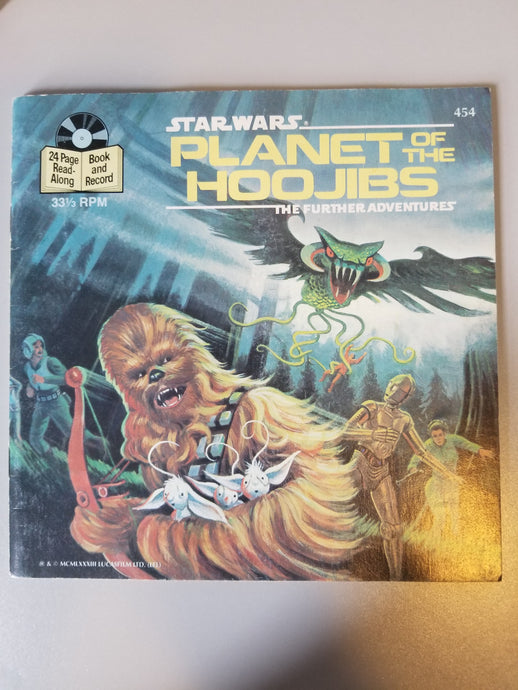 1983 Star Wars Planet of the Hoojibs the Further Adventures
