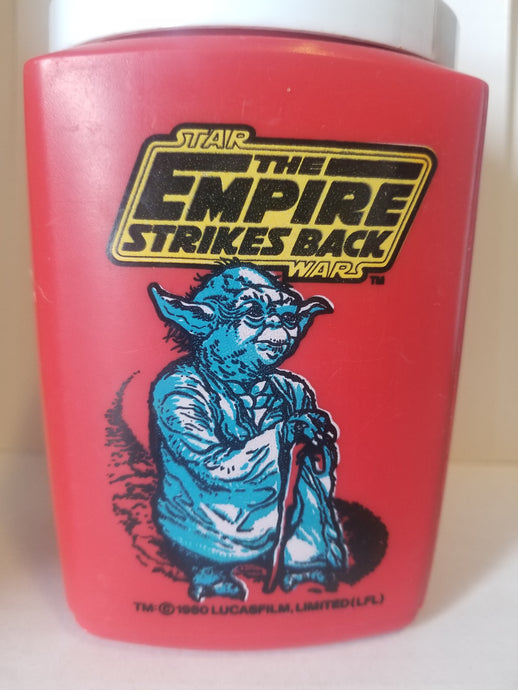 1980 Star Wars Empire Strikes Back Yoda Thermos - No cap