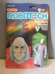 1985 ROBOTECH Master Enemy Carded Figure