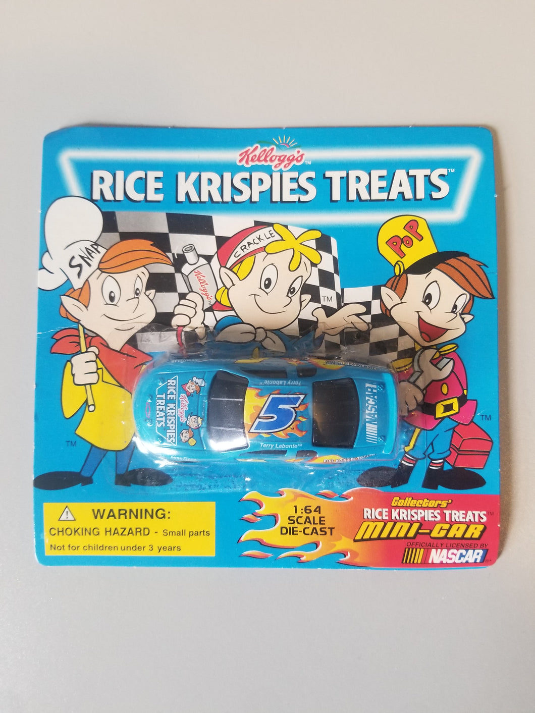 1999 Kellogg Rice Krispies Treats Nascar Mini Car