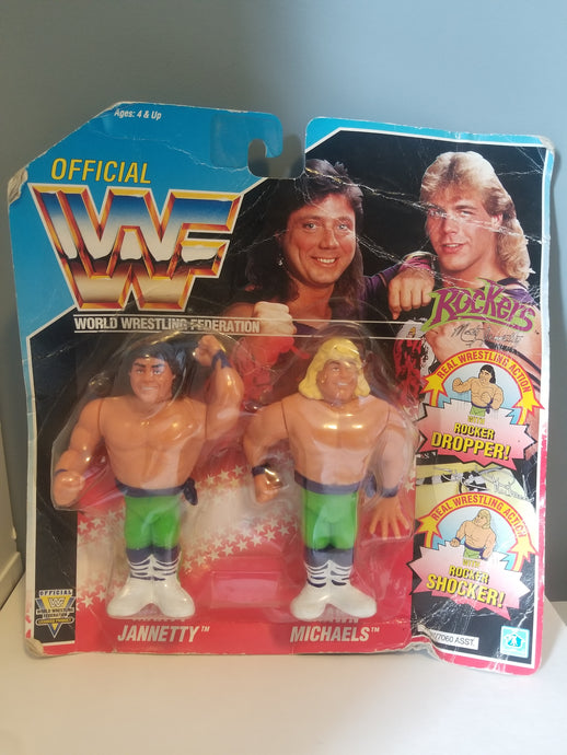 1991 WWF/WWE Rockers Figures in Rough Package