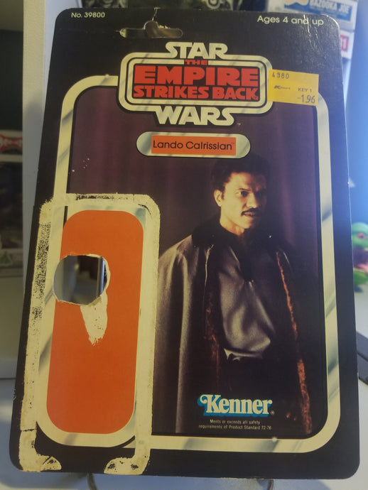 Return of the Jedi ROTJ Lando Calrissian Cardback