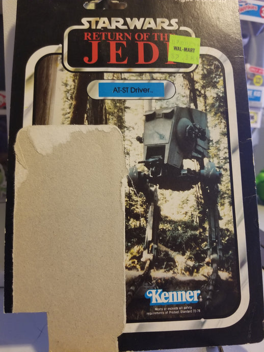 ROTJ AT-ST Driver Card Back
