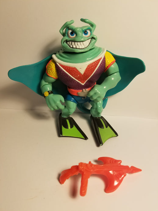 1990 TMNT Loose Ray Filet Action Figure