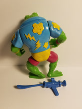 Load image into Gallery viewer, 1990 TMNT Loose Genghis Frog Action Figure