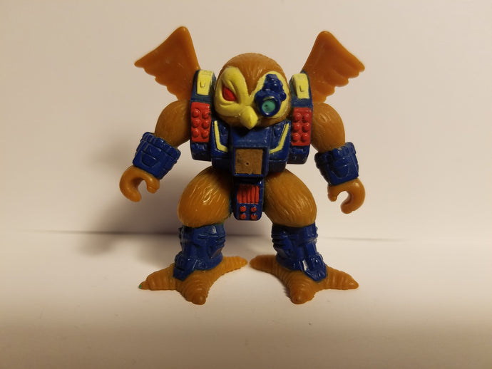 1987 Battle Beasts Series 2 Loose Knight Owl Action Figure