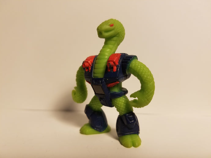 1987 Battle Beasts Loose Triple Threat Snake Action Figure