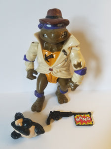 1990 TMNT Loose Undercover Donatello Action Figure