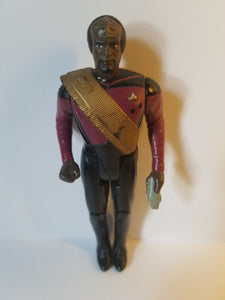 1988 Star Trek Loose Lieutenant Worf Action Figure
