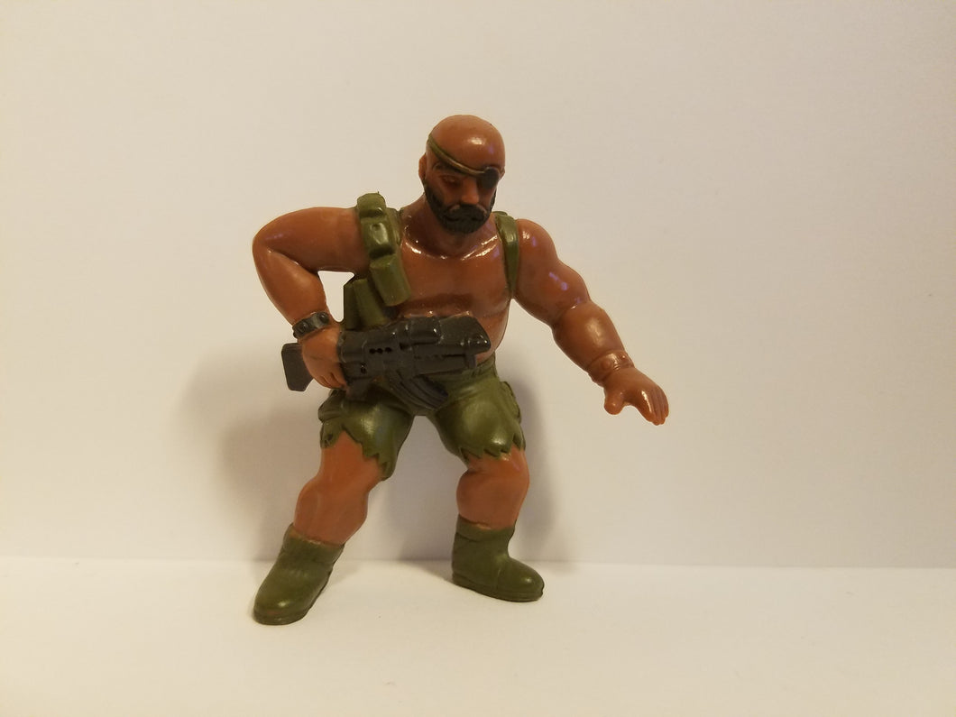 1986 Loose G.U.T.S. Jungle Troop Action Figure