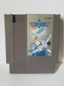 Nintendo Top Gun Konami Game Cartridge