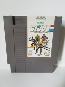 Nintendo G.I.JOE A Real American Hero Taxan Game Cartridge