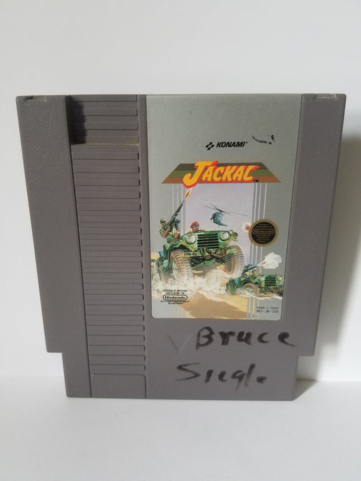 Nintendo Jackal Konami Game Cartridge