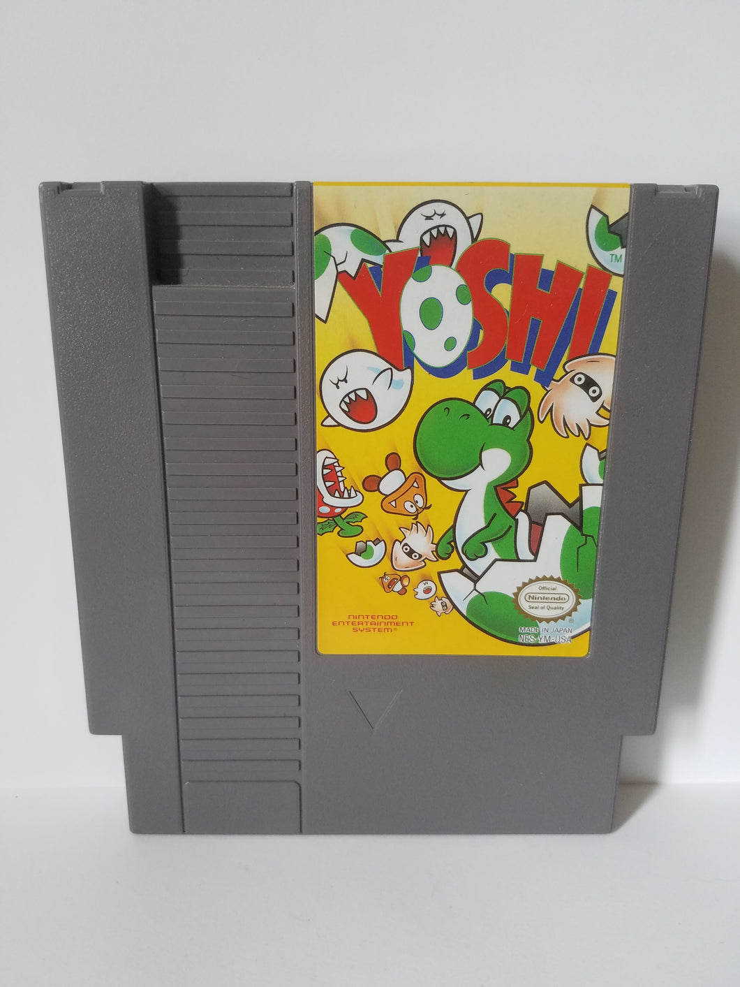 Nintendo Yoshi Game Cartridge