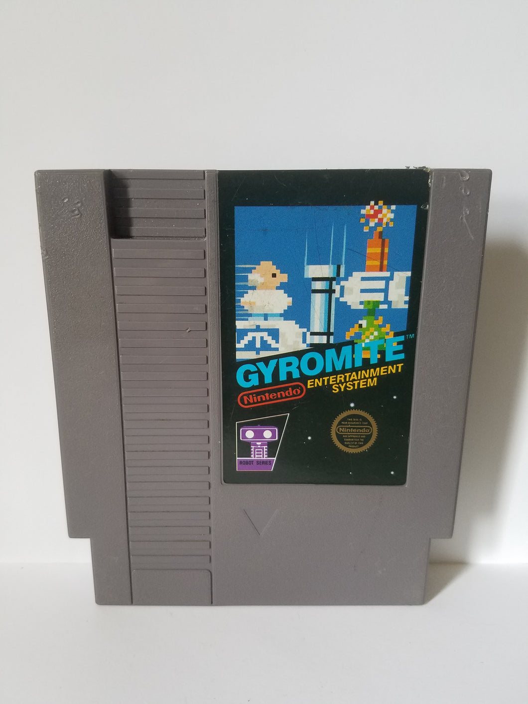 Nintendo Gyromite Game Cartridge