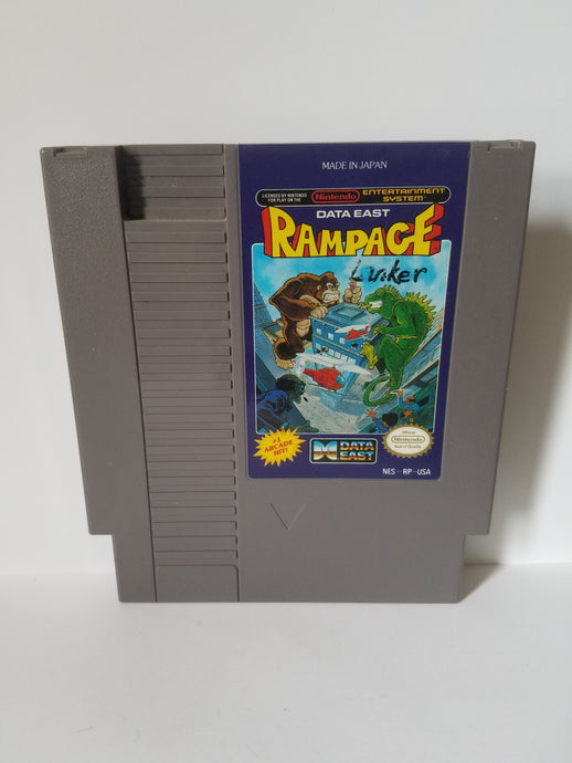 Nintendo Rampage Data East Game Cartridge