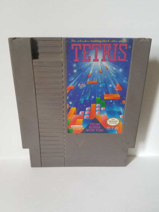 Nintendo Tetris Game Cartridge