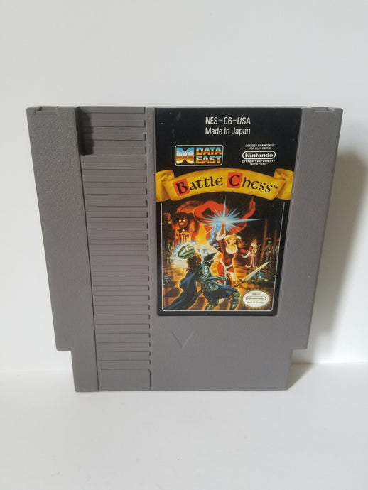 Nintendo Battle Chess Data East Game Cartridge