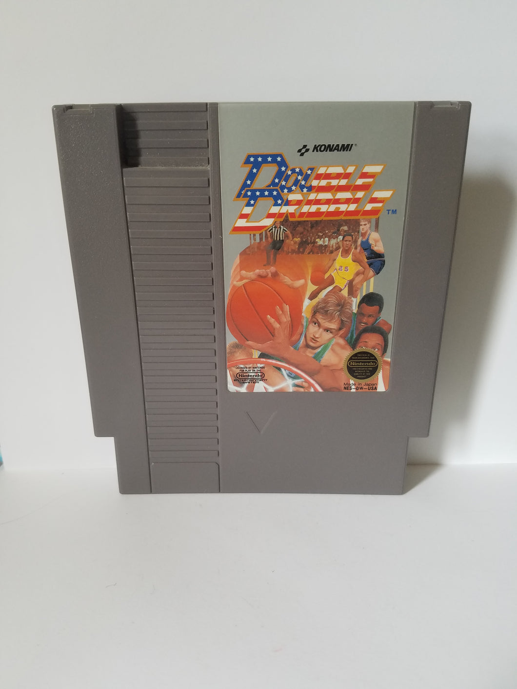 Nintendo Double Dribble Konami Game Cartridge