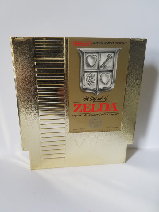 Nintendo Zelda Gold Game Cartridge