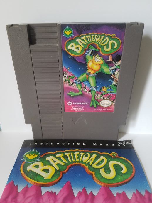 Nintendo Battletoads TradeWest Game Cartridge