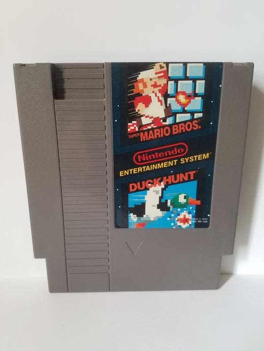 Nintendo Super Mario Bros and Duck Hunt Game Cartridge