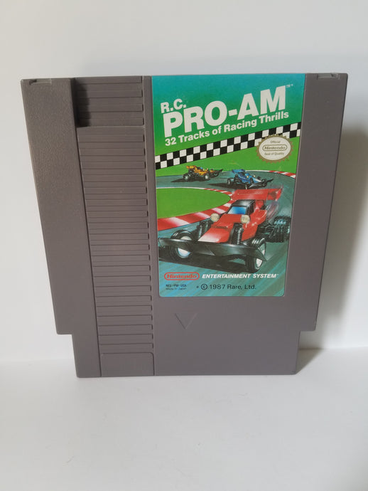 Nintendo RC Pro Am Game Cartridge