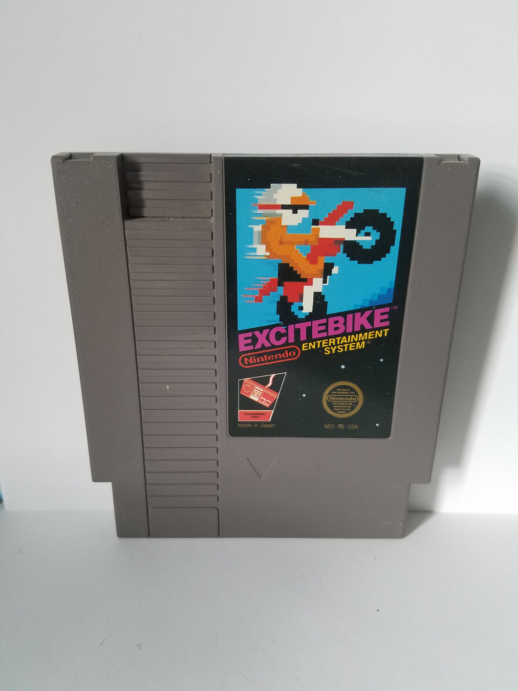 Nintendo Excitebike Game Cartridge