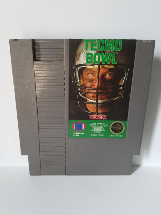 Nintendo Tecmo Bowl Football Game Cartridge