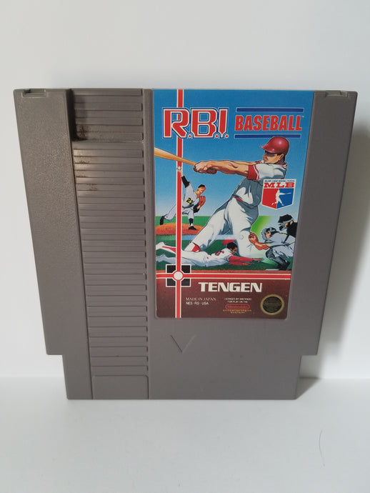 Nintendo R.B.I. Baseball Game Cartridge
