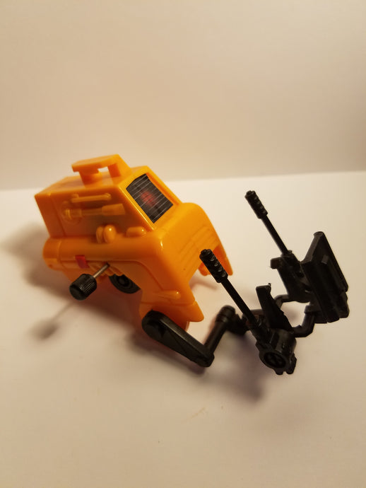 1987 Sky Commanders Battle Track Protector Gunners Chair Unit