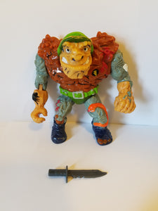 1989 TMNT Loose General Traag Action Figure