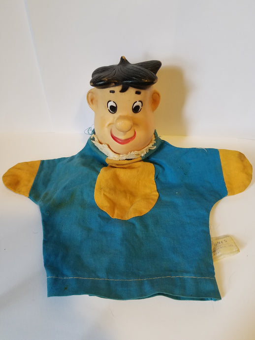 1962 Fred Flinstone Hand Puppet