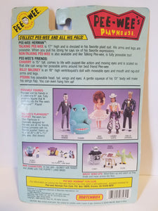"1988 Pee-Wee's Playhouse ""King of Cartoons"" Carded Action Figure"