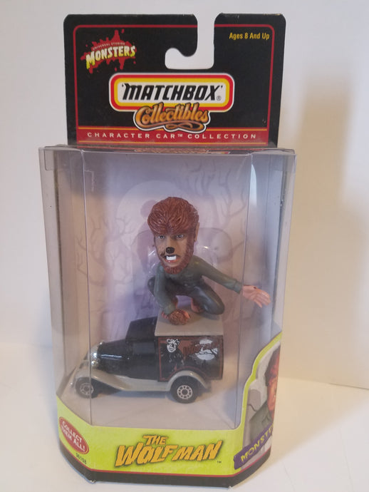 2000 Universal Monsters Matchbox Collectibles Wolfman