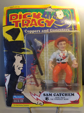 "Load image into Gallery viewer, 1990 Dick Tracy ""Sam Catchem"" Action Figure"