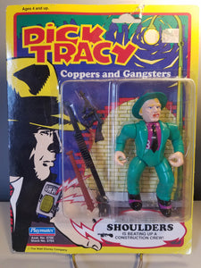 "1990 Dick Tracy ""Shoulders"" Action Figure"