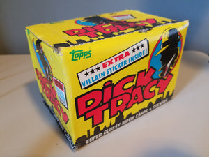 1990 Dick Tracy Unopened 24ct Trading Cards