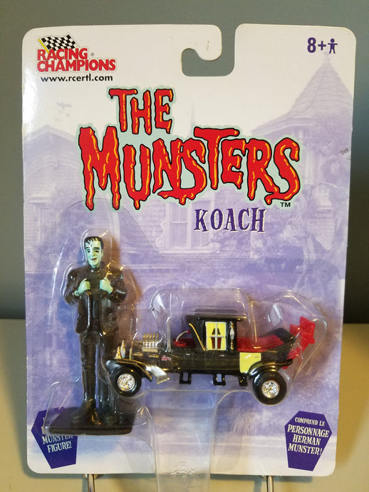 2003 The Munsters Koach and Herman Munster