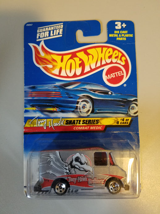 1999 Birdhouse Tony Hawk Combat Medic Hot Wheels