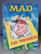 "Load image into Gallery viewer, 1976 Issue #185 MAD Magazine ""For President"""