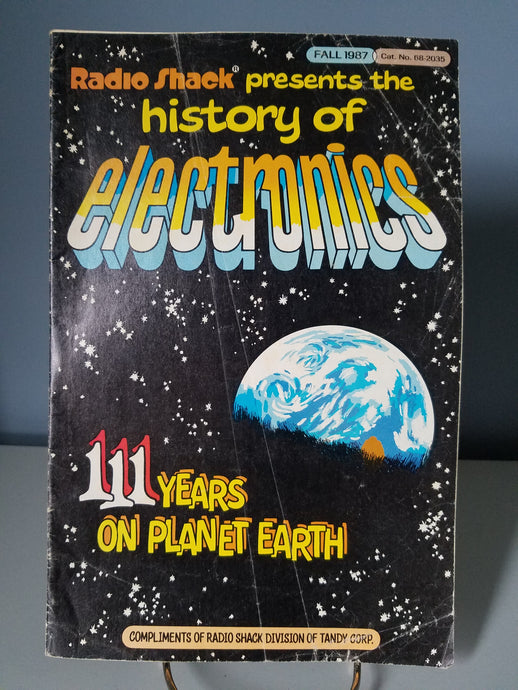 1987 Radio Shack Presents the History of Electronics Comic Book