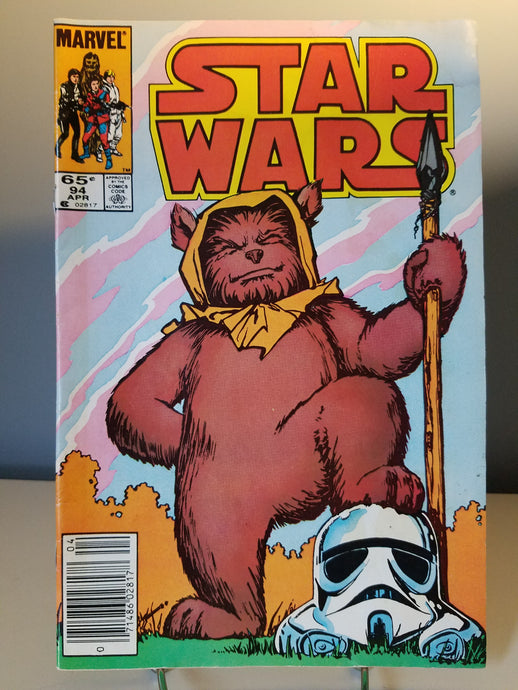 1985 Star Wars Marvel Comic Book #94