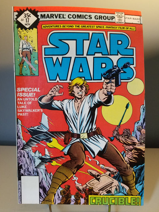 1978 Star Wars Marvel Comic Book #17 Crucible