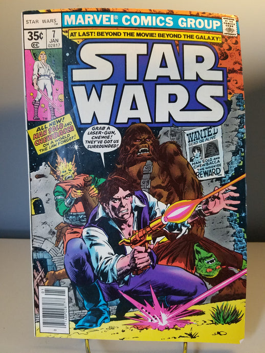 1977 Star Wars Marvel Comic Book #7
